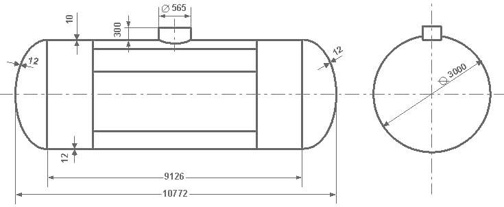 Виды железнодорожная цистерна 50 кубов размеры действия летнего термобелья